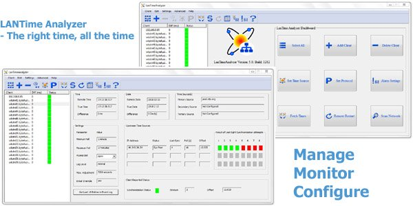 LanTime Analyzer Screen shot